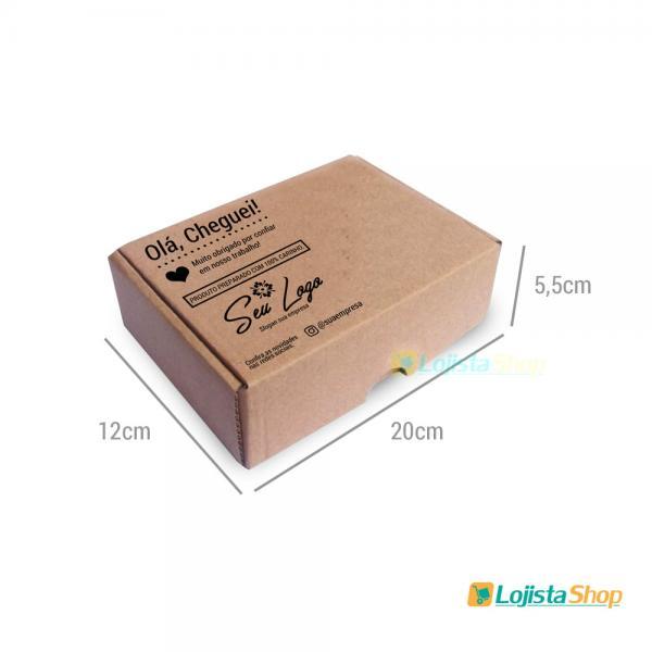 Caixa de Papelão Personalizada Pequena