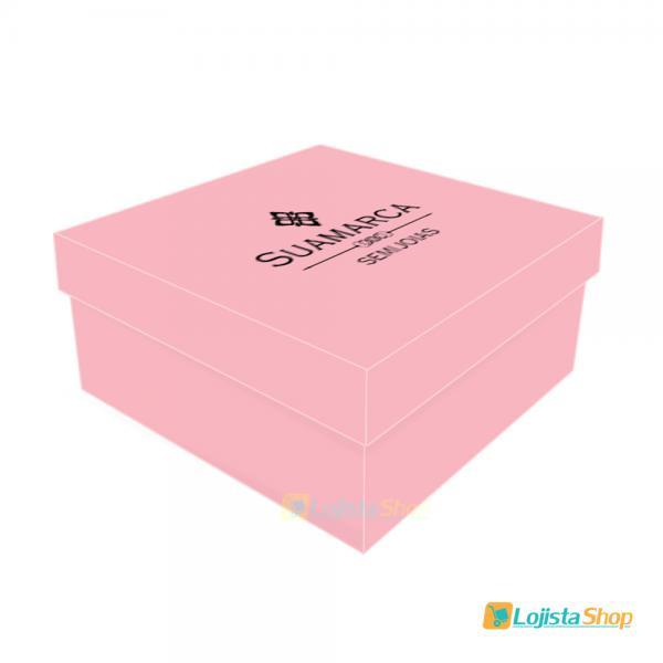 Caixa para Joias Personalizada 8x8x5cm