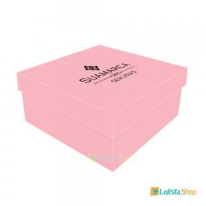 Caixa para Joias Personalizada 8x8x5cm Papel Couchê 300g 8x8x5cm 4x0 - Frente Colorida Sem Brilho  Criação da arte Grátis